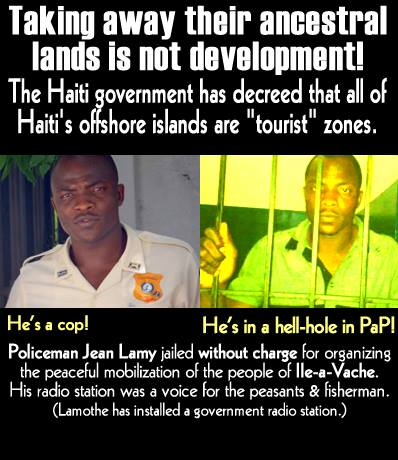 Haiti is not for sale. Release Matulnes!