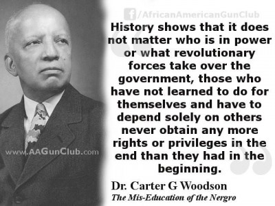Promoting dependency is slavery