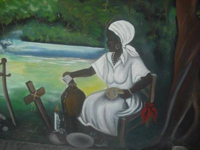 High priestess and Desalin's spiritual advisor, Grann Guitonn