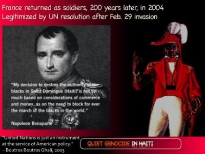 Napoleon the genocidal maniac
