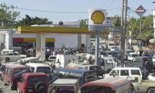 Haiti oligarchy raise price on gas to show displeasure that Duvalier not getting State funeral