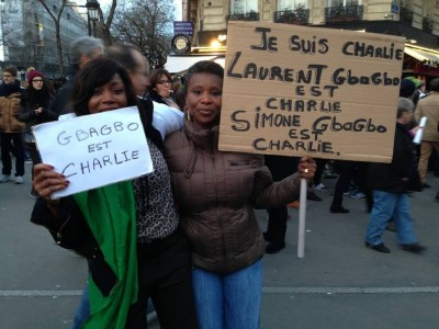 Laurent and Simone Gbagbo es Charlie. #BlackLivesMatter