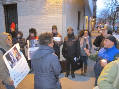 Condenm racist lynch mob in DR, Vigil for Tulile, February 12, 2015