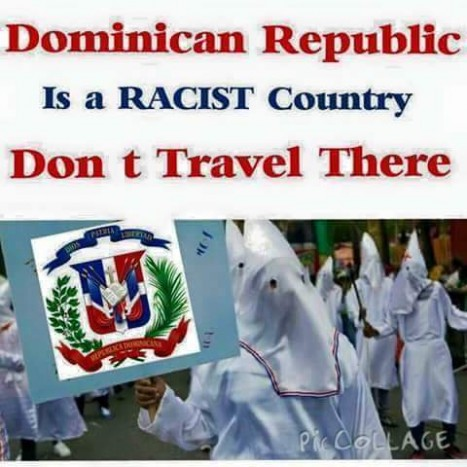 Divest, Sanction, Boycott Racist Dominican Repubic