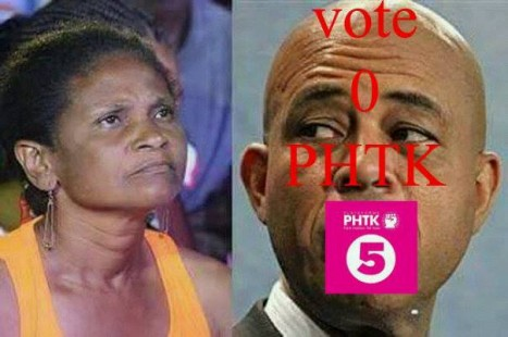 Miragoane Sexist Attack By Martelly, July28_2015