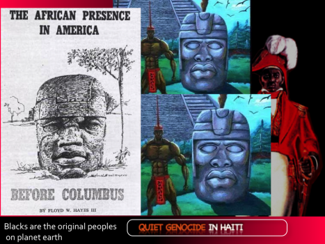 "Blacks are the ORIGINAL peoples on planet earth, not ""ab"" original but ORIGINAL and that includes original to the Americas"