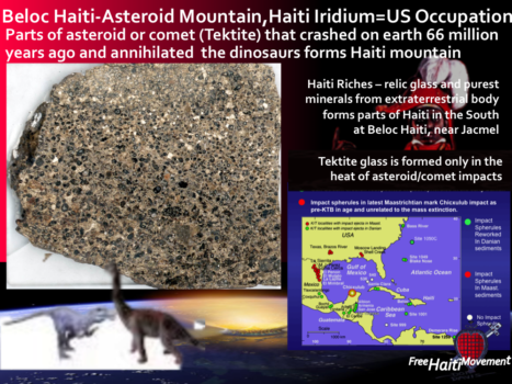 Haiti Riches - Purest Iridium at Beloc Haiti