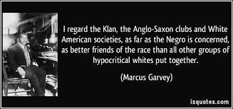Marcus Garvey on the white Liberals of Leftists.