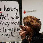 Stop building luxury hotels with money meant for homeless people!