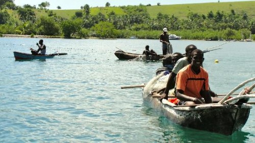 Haiti fisherman at Kay Kok, Ile a Vache are asked to leave their coastal homes to make way for tourist resorts