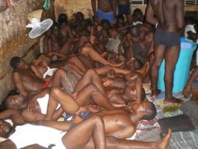 Haiti National Penitenciary- Warehousing Haiti men reminiscent of the slave ship condition