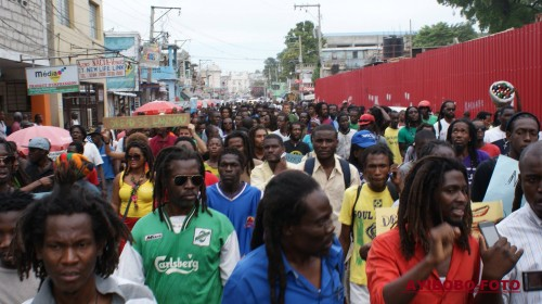 Stop arbitrarily arresting and assaulting Dreads in Haiti  Photo credit: Jelin Esau Jules