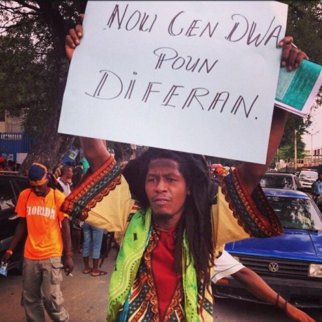 Stop arbitrarily arresting and assaulting Dreads in Haiti