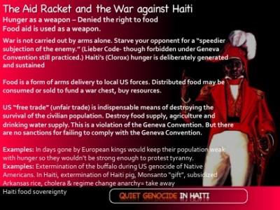 The Aid Racket: Food Aid as a Weapon