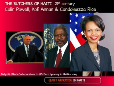 The Bafyòti and Quiet Genocide in Haiti. How it is wielded from FDR to Obama