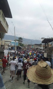 Haiti protest against dictatorship - Feb 7, 2015