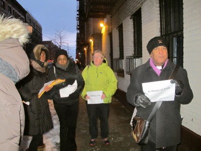 Vigil for Tulile - From USA to the Dominican Republic, Racism must end. Black Lives Matter