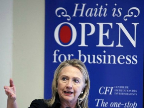 Hillary Clinton Colonialism During Time of Disaster in Haiti