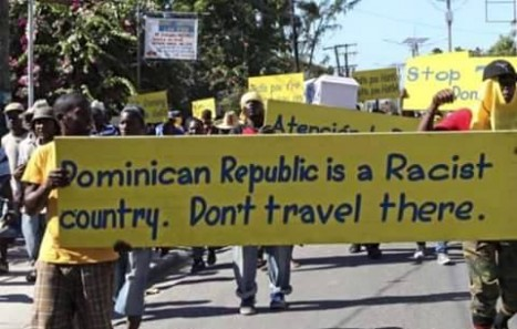 No to civil genocide, ethnic cleansing and expulsions in Dominican Republic