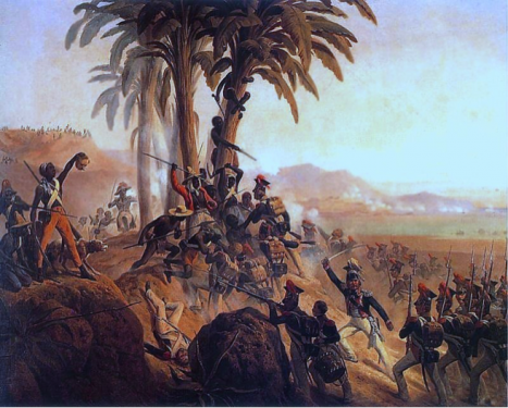 Haiti Revolution that abolished slavery, colonialism, European Triangular Trade, forced assimilation