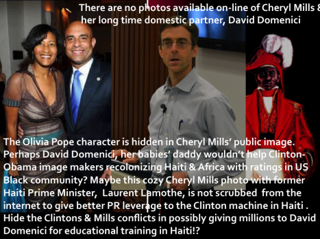 Cheryl Mills and David Domenici, a family with a glaring conflict of interest in Haiti