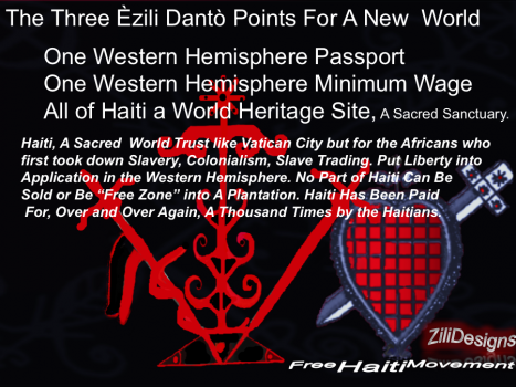 Three Simple Ezili Dantò Principles For A Just New  World