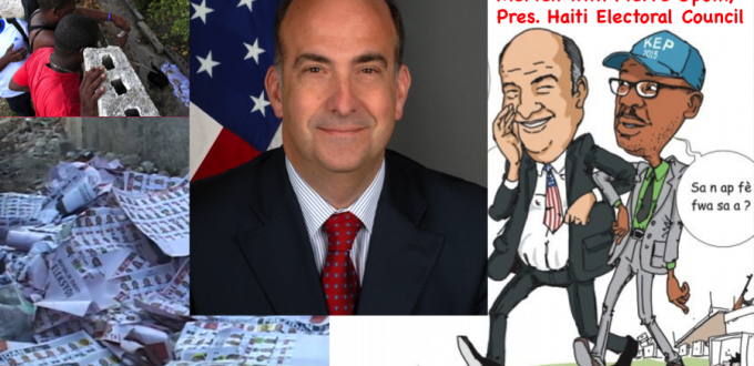 US election scam with Kenneth Merten and Pierre Louis Opont, same election fraud, five years later... Cartoonish.