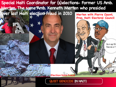 New Rochambeau Expedition to Haiti For Donald Trump led by Kenneth Merten