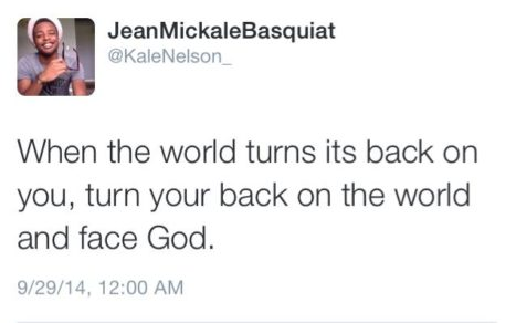War on Black Boys: When the world turns its back on you, turn your back on the world and face God.
