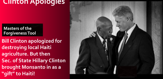 The Useless and Incessant Clinton Apologies to Black people they abuse