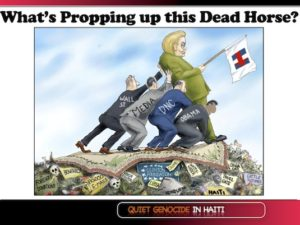Indict Hillary Donald Trump Says the Clintons and Pals Looted Haiti