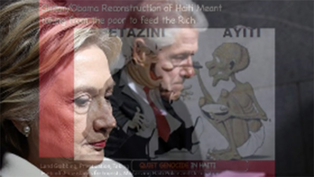 The Clintons Looted while Haiti Suffered