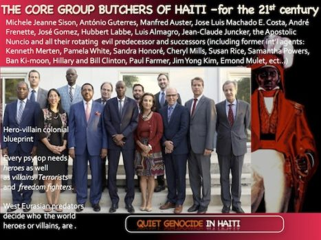 The Core Group of Butchers in Haiti